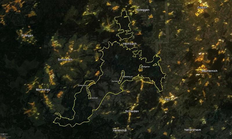 Nationalpark Eifel Karte.Astronomie Werkstatt Sterne Ohne Grenzen Karten Und Bildmaterial